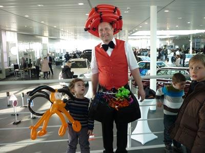 Ballonkünstler für Autohaus, Eröffnung, Tag der offenen Tür uvm. in München